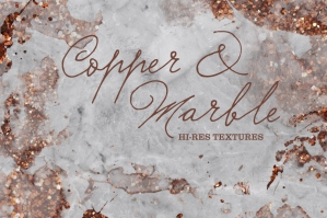 Copper Marble Textures
