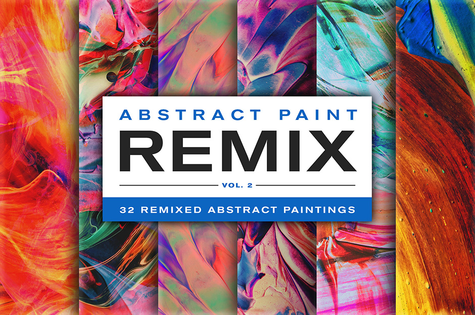 Abstract Paint Remix Vol. 2