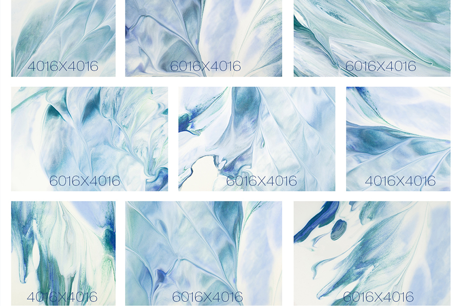 Sea Painted Backgrounds