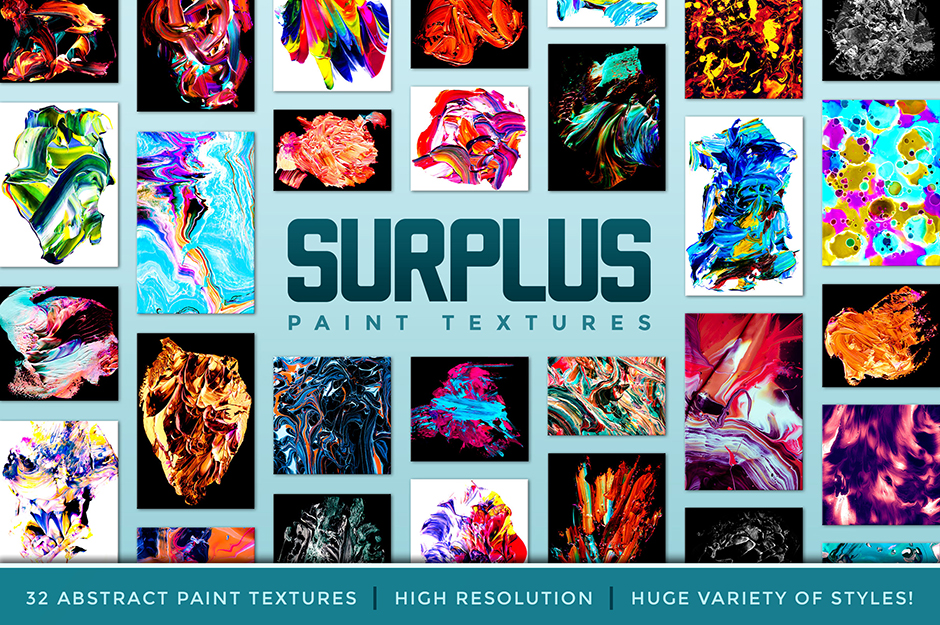 Surplus 32 Abstract Paint Textures