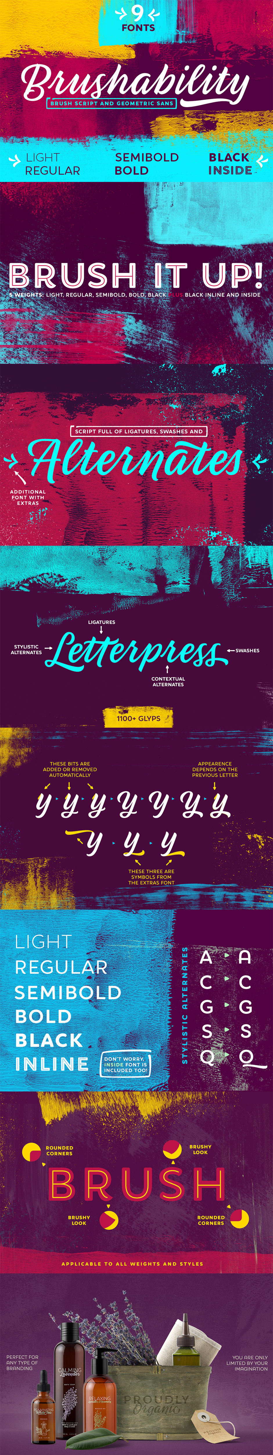 The Exceptional, Best-Selling Font Selection