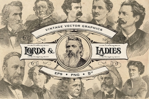 Vintage Lords & Ladies Graphics