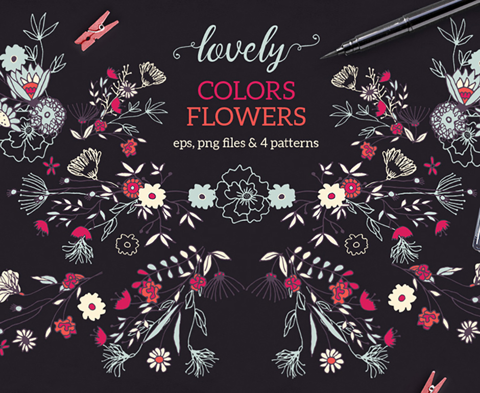 Lovely Colors Flowers