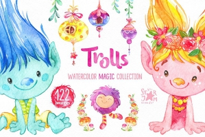 Trolls Magic Collection
