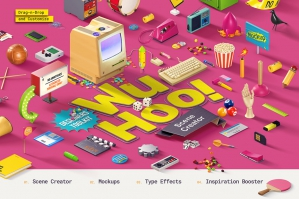 WuHoo Designers Customizable Graphics Toolkit