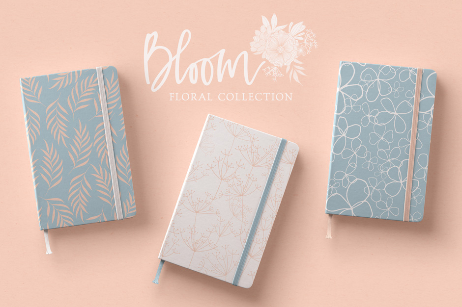 Bloom Floral Pattern Collection