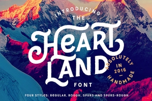 Heartland American Style Font