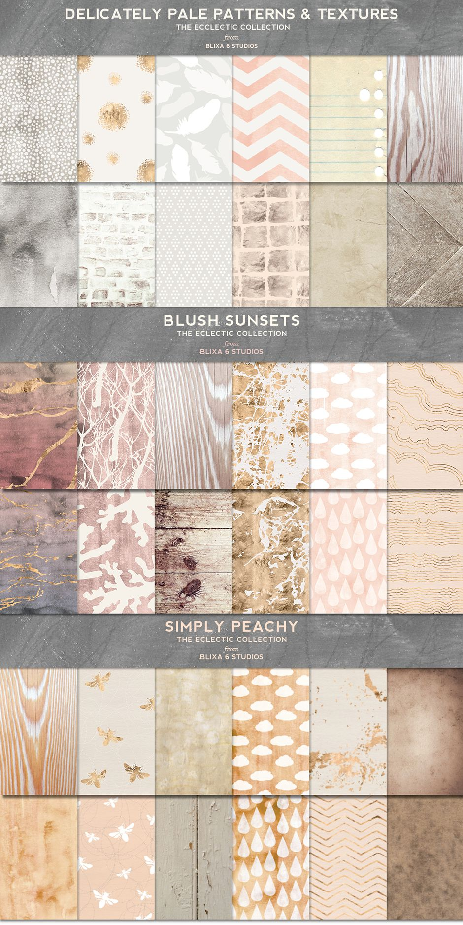 Think Pink! 70 Rose Gold Textures