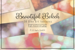 Beautiful Fine Art Bokeh Textures