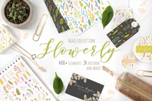Flowerly: Flowers Collection
