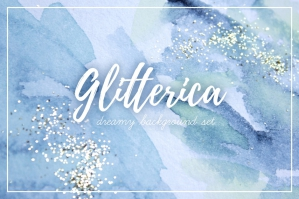 Glitterica: Glittery Background Set