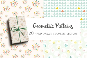 Hand Drawn Geometric Patterns 2