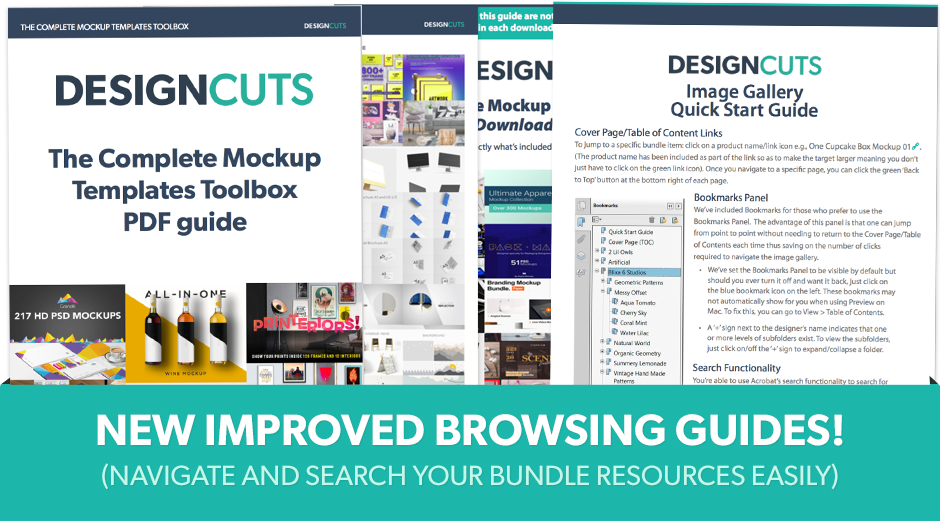 Complete Mockup Templates Toolbox Helpful Guides