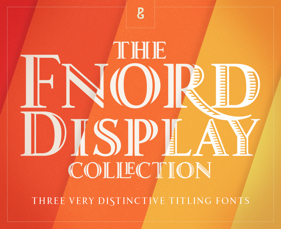Fnord Display Font Collection