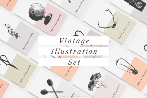 Vintage Illustrations V.1