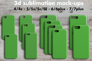 iPhone Case Mockup 3D Print
