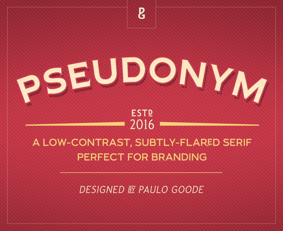 Pseudonym: Serif Font Collection
