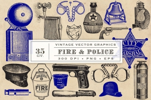 Fire & Police Graphics