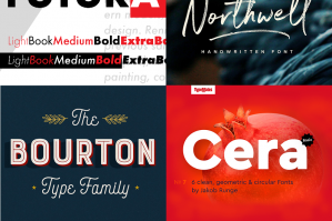 The Design Cuts Birthday Font Bundle (4 Years of Our Best-Sellers)