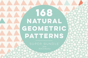 168 Natural Geometric Patterns