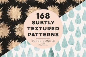 168 Subtly Textured Patterns