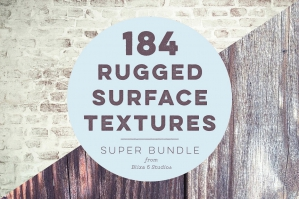 184 Rugged Background Textures