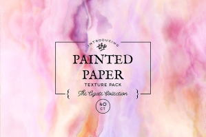 Free: Painted Paper Textures Agate
