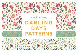 Darling Days Floral Patterns