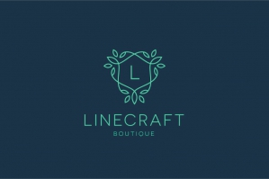Linecraft Boutique Logo Templates Bundle