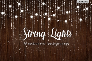 String Lights Elements V3