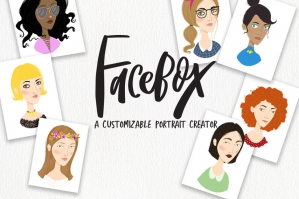 Face Box Portrait Creator