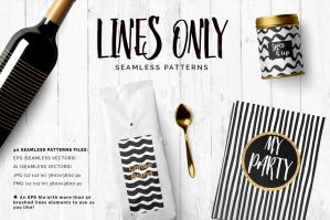Hand Drawn Line Patterns