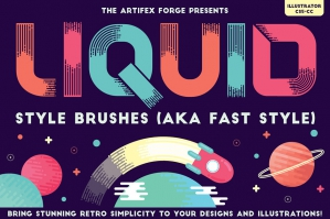 Liquid Style Brushes