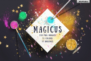 Magicus Dust Brushes