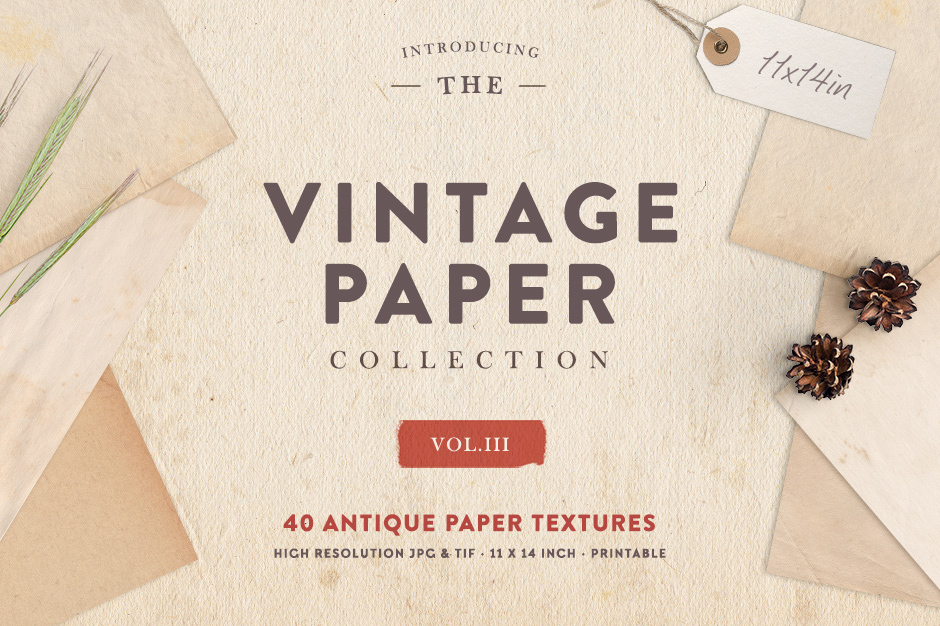Vintage Paper Collection Vol. 03