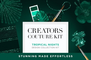 Tropical Nights Couture Design Kit