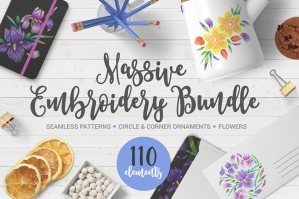Massive Embroidery Bundle