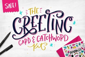 The Greetings Card & Catchword Kit