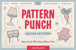 Pattern Punch: 50 Vector Patterns