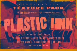 Plastic Ink Texture Pack