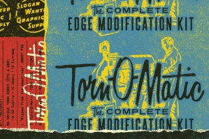 Torn-O-Matic Edge Modification Kit