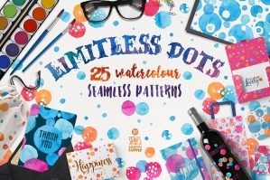 Limitless Dots Patterns Pack