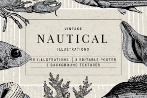 Vintage Nautical Graphics