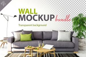Wall Mockup - Bundle Vol. 1