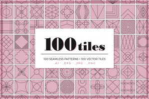 100 Tile Patterns