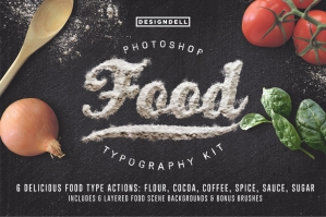 Food Typography Kit