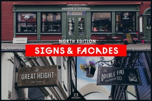 Signs and Facades Mockups: North Edition