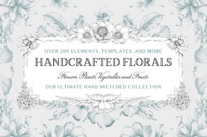 The Handcrafted Floral Elements Collection