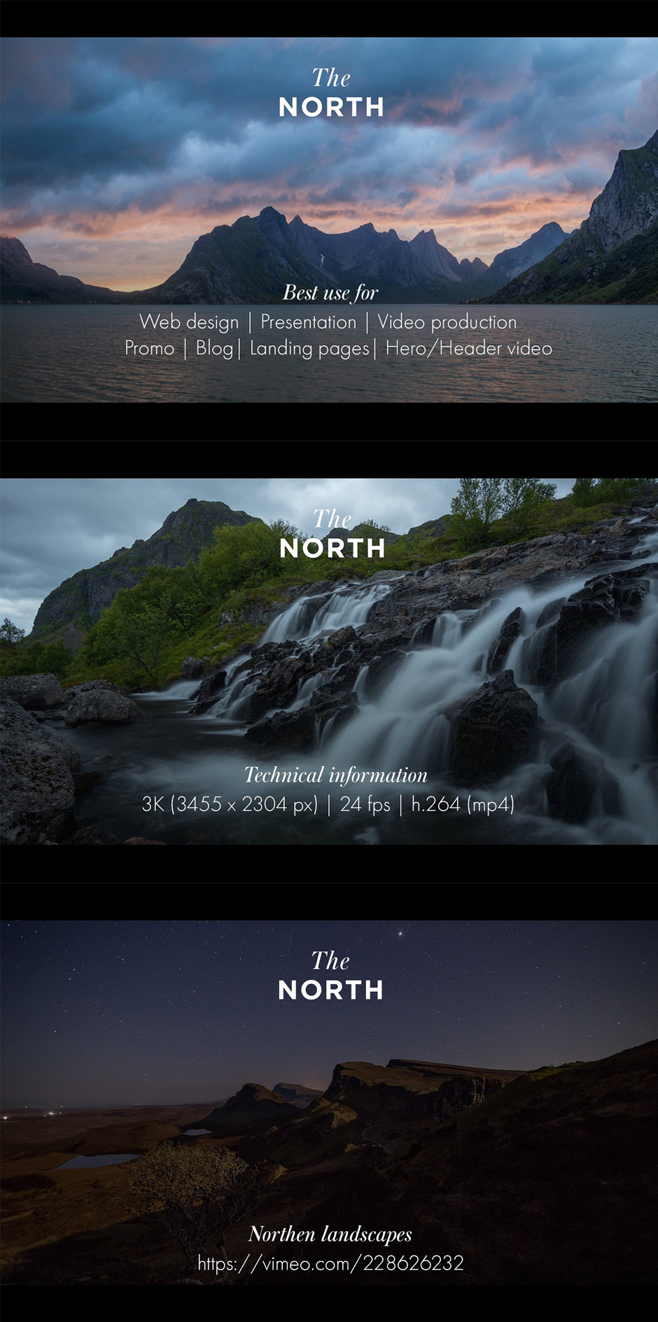 The North - Timelapse Videos