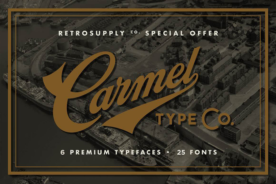 The Eclectic Vintage Design Library